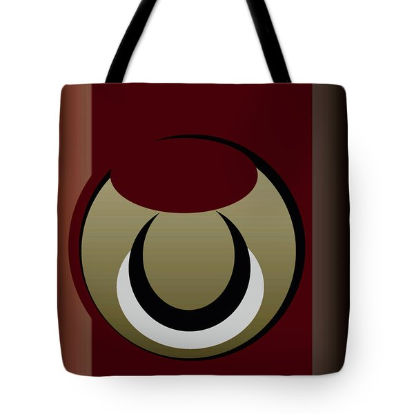 Tote Bag featuring the digital art Outside The Box by John Krakora