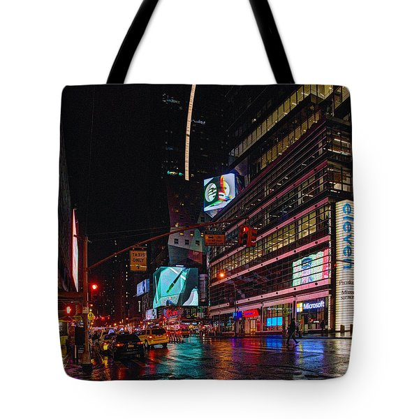Outside The Square 027 Tote Bag