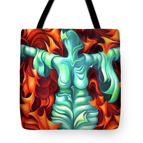 Outstretched Arms - Layers Xvii Tote Bag