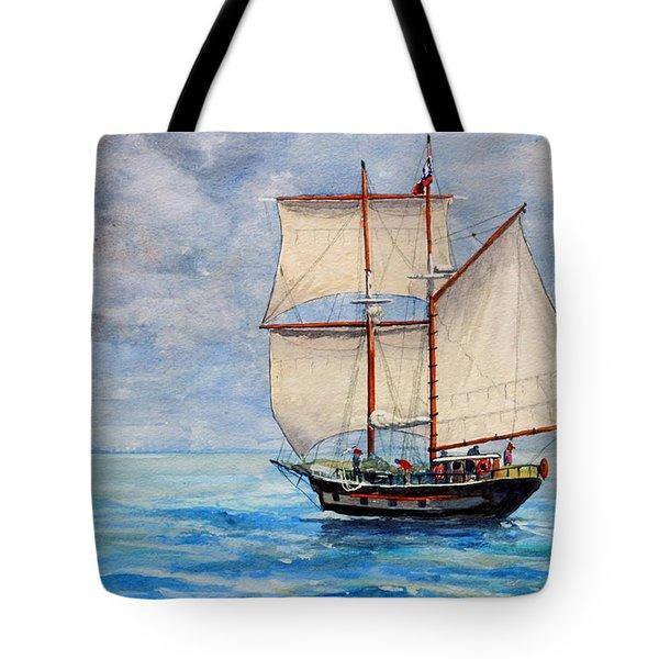 Outward Bound Tote Bag by Dennis Clark