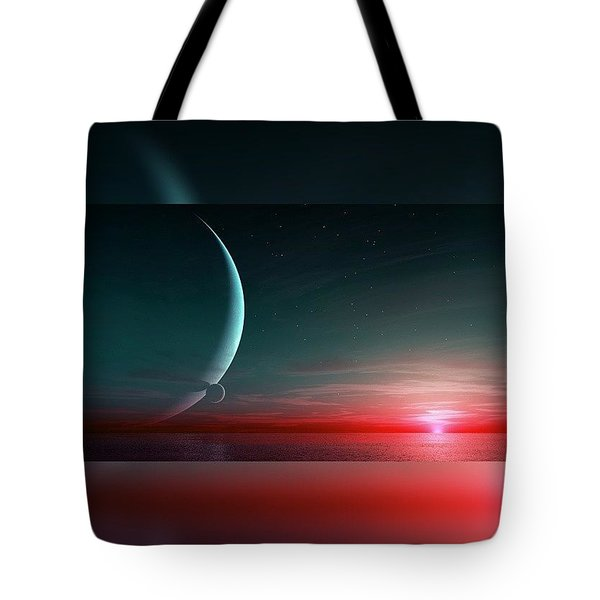 Outworld. Bi-moon  Tote Bag