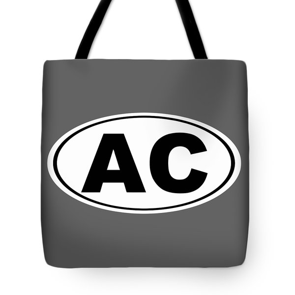 Tote Bag featuring the photograph Oval Ac Atlantic City New Jersey Home Pride by Keith Webber Jr