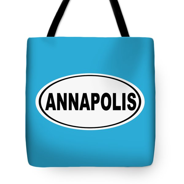 Tote Bag featuring the photograph Oval Annapolis Maryland Home Pride by Keith Webber Jr