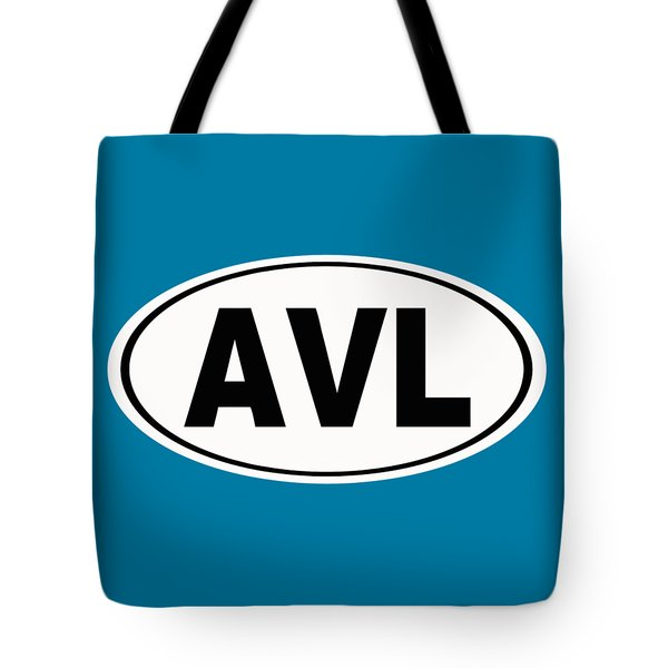 Tote Bag featuring the photograph Oval Avl Asheville North Carolina Home Pride by Keith Webber Jr