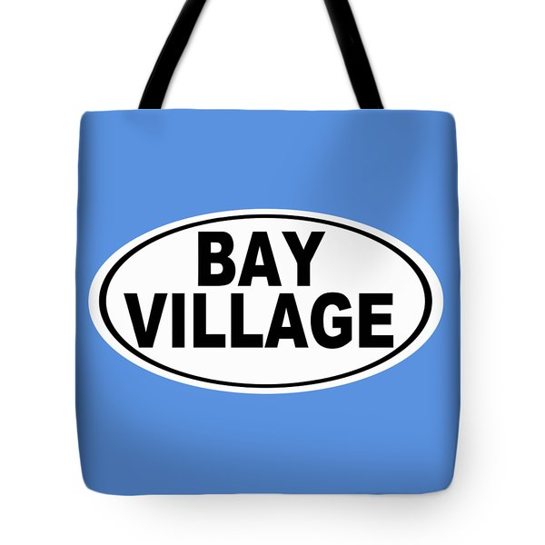 Tote Bag featuring the photograph Oval Bay Village Ohio Home Pride by Keith Webber Jr