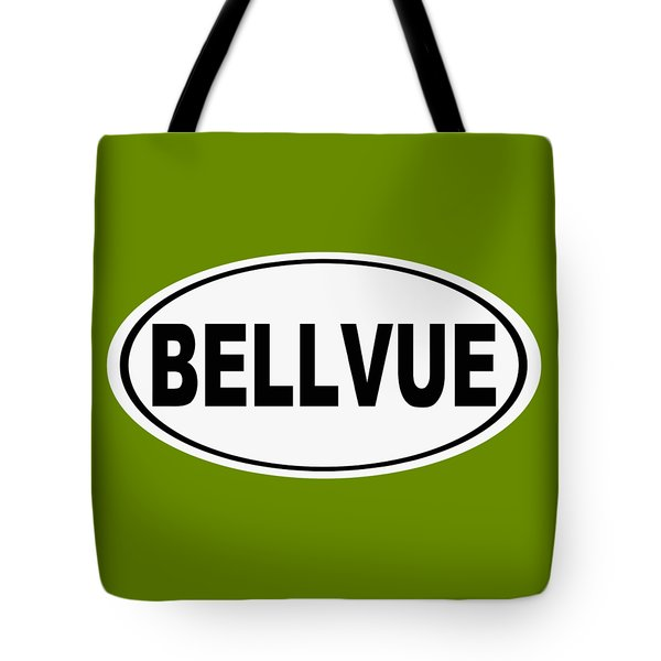 Tote Bag featuring the photograph Oval Bellvue Colorado Home Pride by Keith Webber Jr