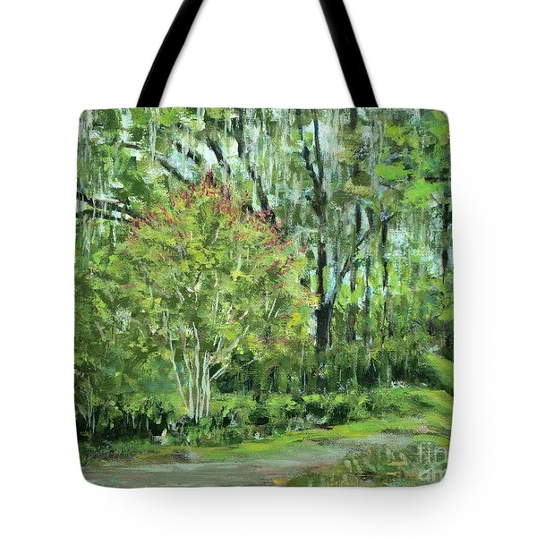 Oven Park Sunday Morning Tote Bag