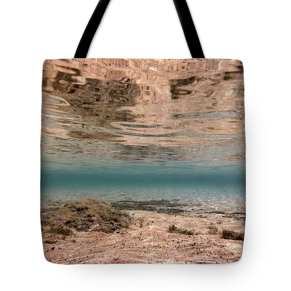 Over And Under Tote Bag