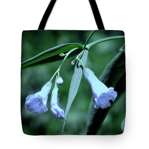 Over Done Blue Tote Bag