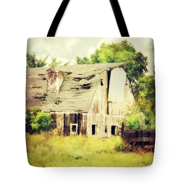 Tote Bag featuring the photograph Over Grown by Julie Hamilton