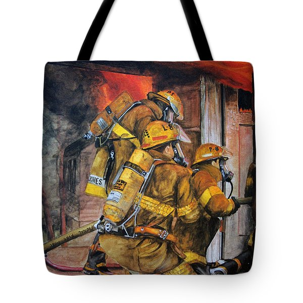 Over Head Heat Tote Bag by Paul Walsh