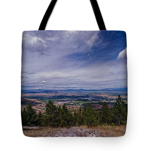 Over Helena Tote Bag