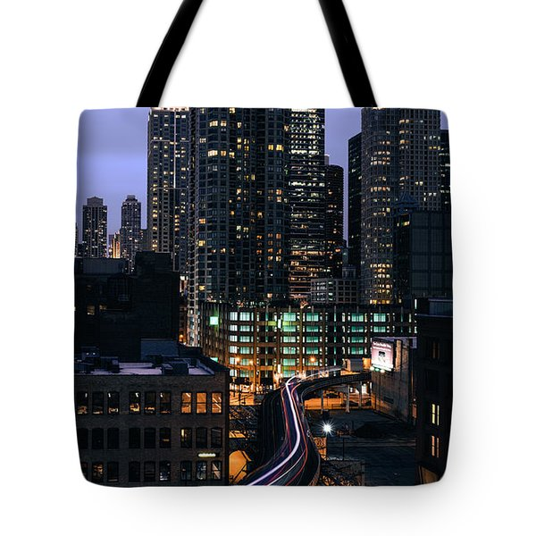 Over L  Tote Bag