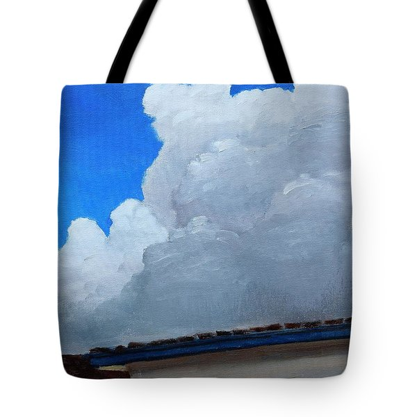 Over My House Tote Bag