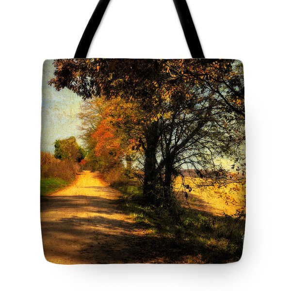 Over My Shoulder Tote Bag by Lois Bryan