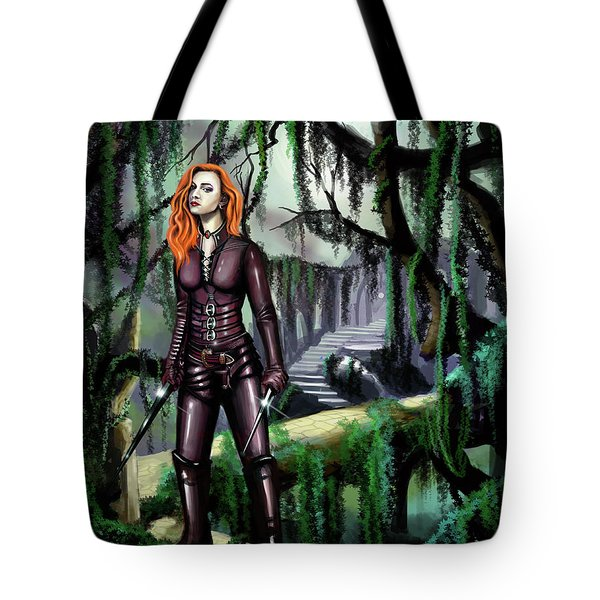 Over The Bridge Tote Bag by James Christopher Hill