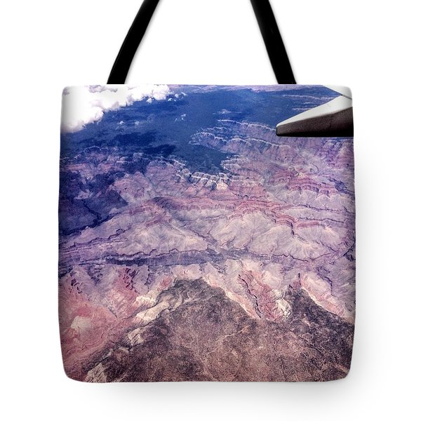 Over The Canyon Tote Bag