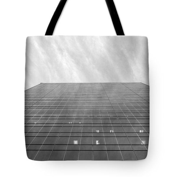 Tote Bag featuring the photograph Over The City by Valentino Visentini