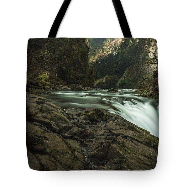 Over The Edge Signed Tote Bag