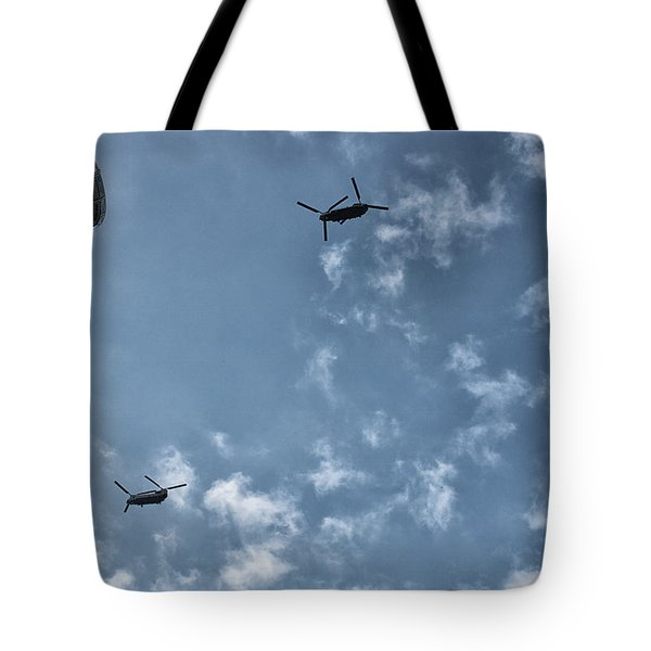 Over The Eye Tote Bag