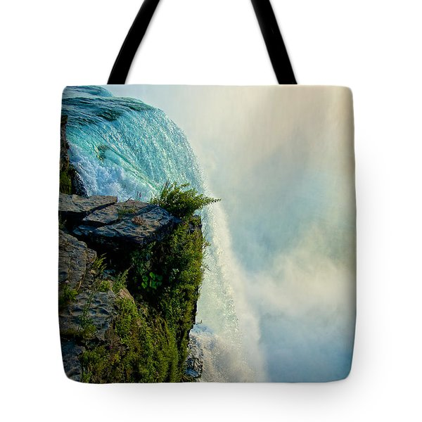 Over The Falls II Tote Bag