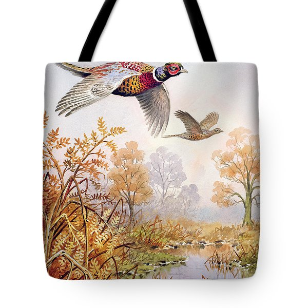 Over The Fen Tote Bag