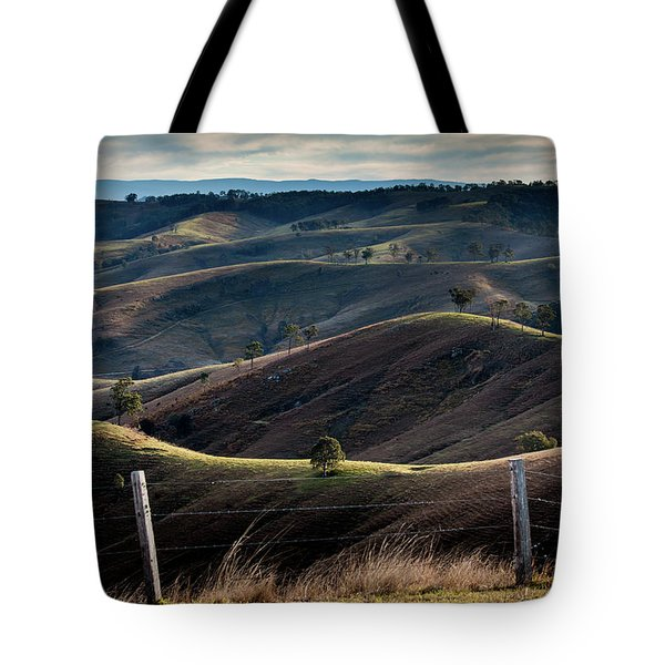 Over The Back Fence Tote Bag