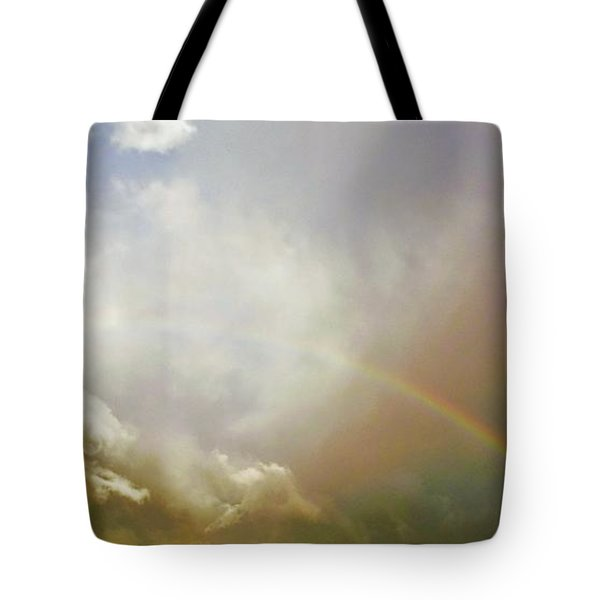 Tote Bag featuring the photograph Over The Rainbow by Deborah Moen