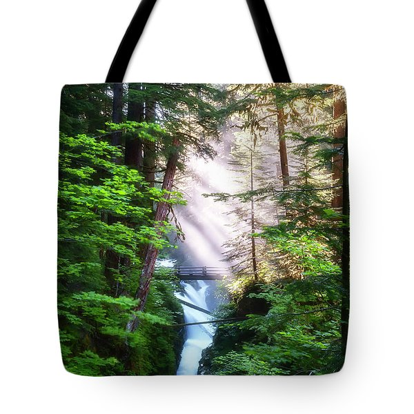 Over The River And Through The Woods Tote Bag