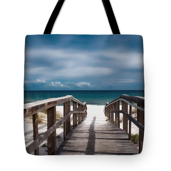 Over The Sand Tote Bag