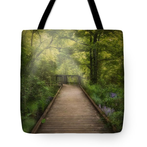 Tote Bag featuring the photograph Over The Wetlands by Robin-Lee Vieira