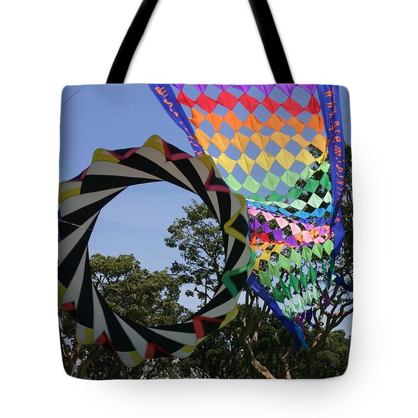 Tote Bag featuring the photograph Over Under Sideways Down by Marie Neder