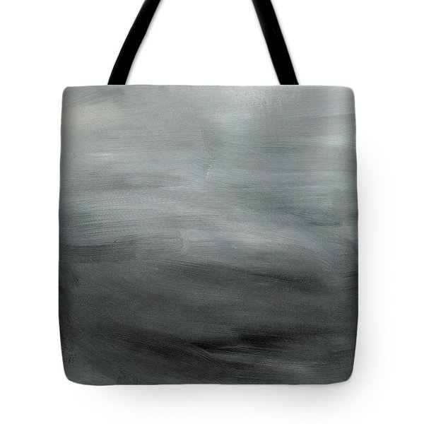 Overcast Morning- Abstract Art By Linda Woods Tote Bag