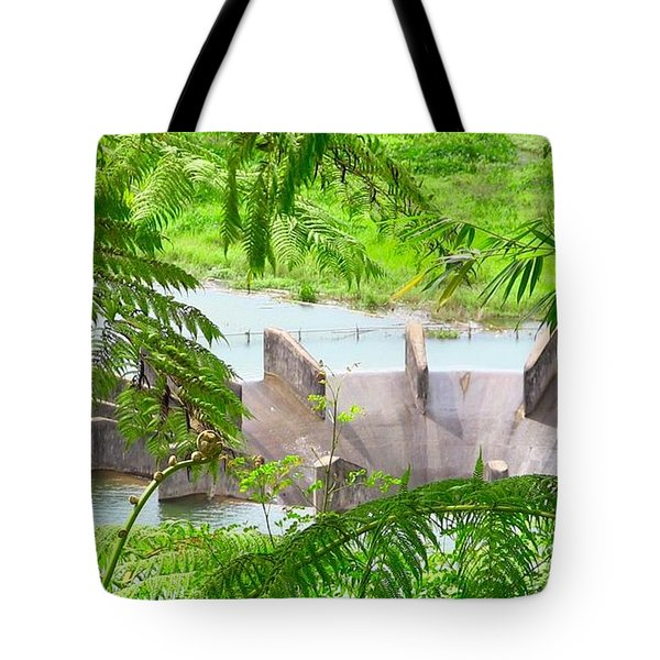 Overflow Release Tote Bag