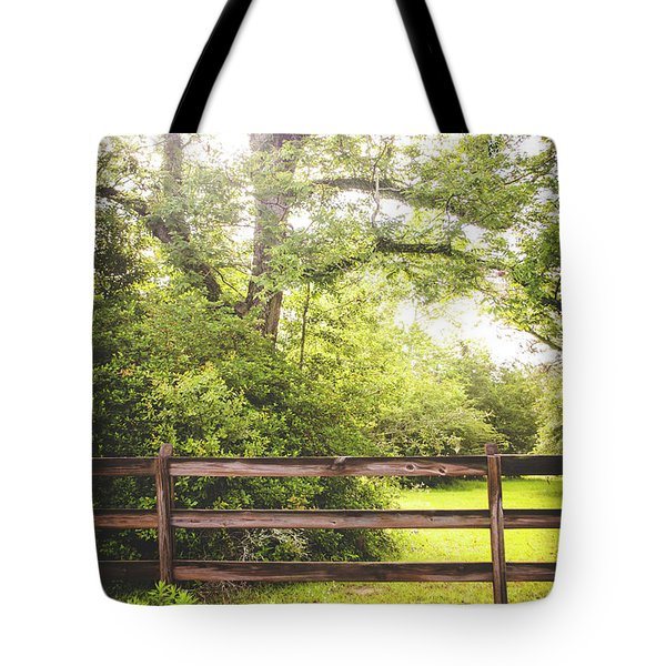 Tote Bag featuring the photograph Overgrown by Shelby Young
