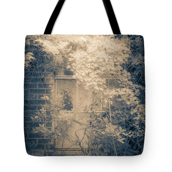 Overgrowth On Abandoned Pumping Station Tote Bag