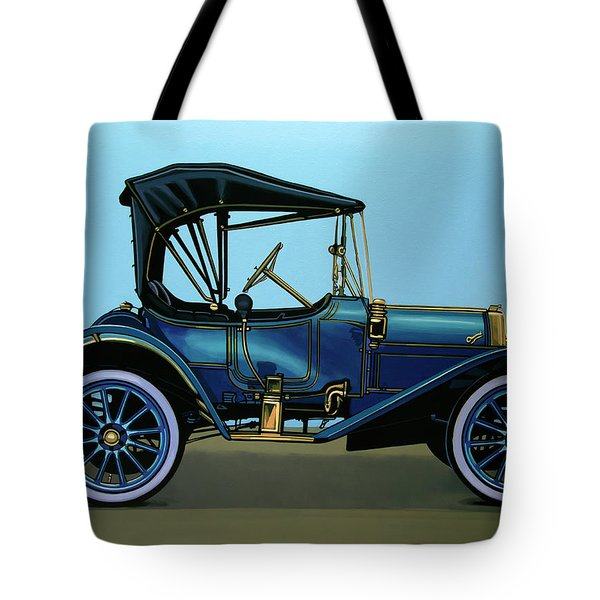Overland 1911 Painting Tote Bag