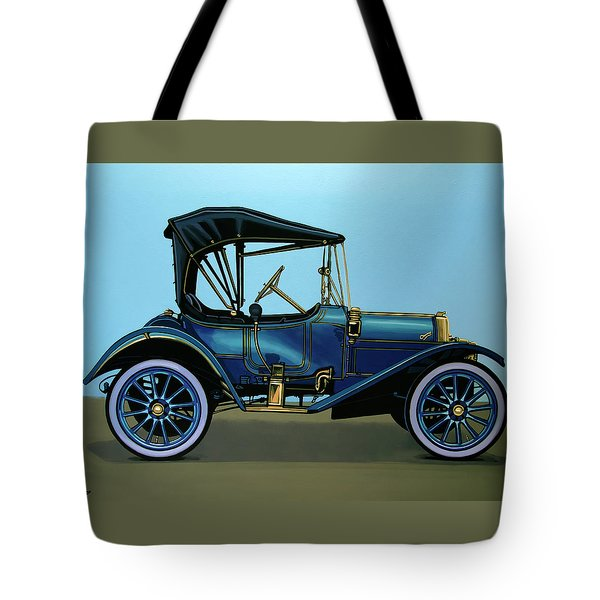 Overland 1911 Painting Tote Bag by Paul Meijering