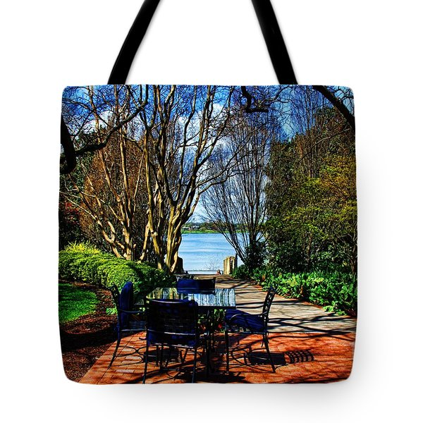 Overlook Cafe Tote Bag