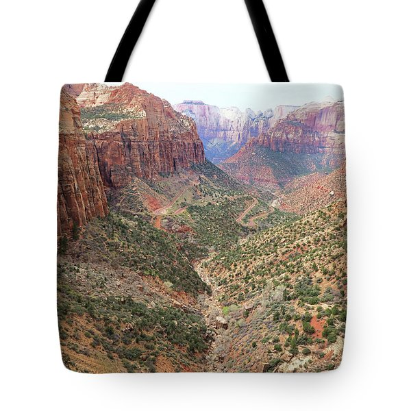 Overlook Canyon Tote Bag