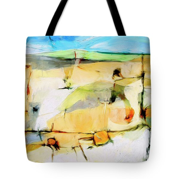 Tote Bag featuring the painting Overlook by Dominic Piperata