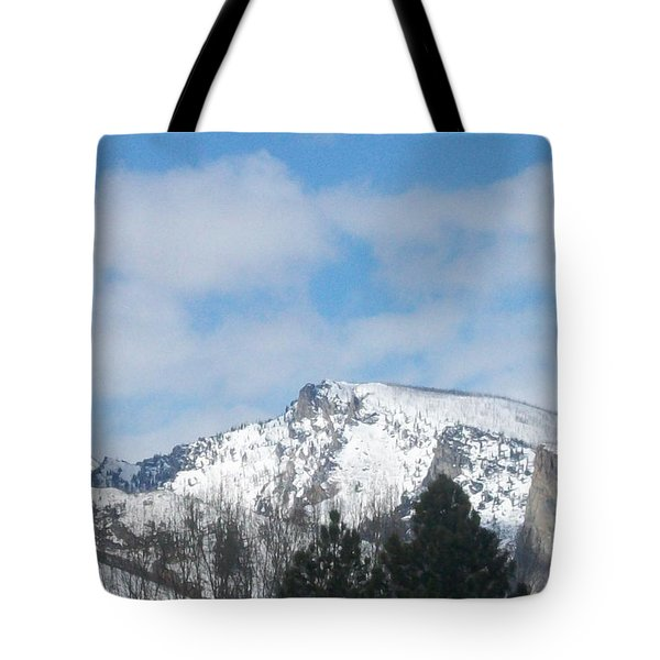 Overlooking Blodgett Tote Bag by Jewel Hengen