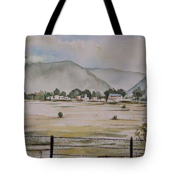 Overlooking The Hills Tote Bag
