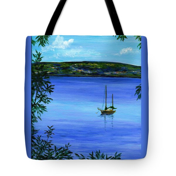 Overlooking The Hudson Tote Bag