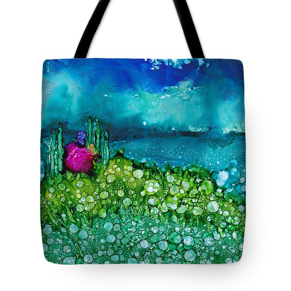 Overlooking The Lake Tote Bag