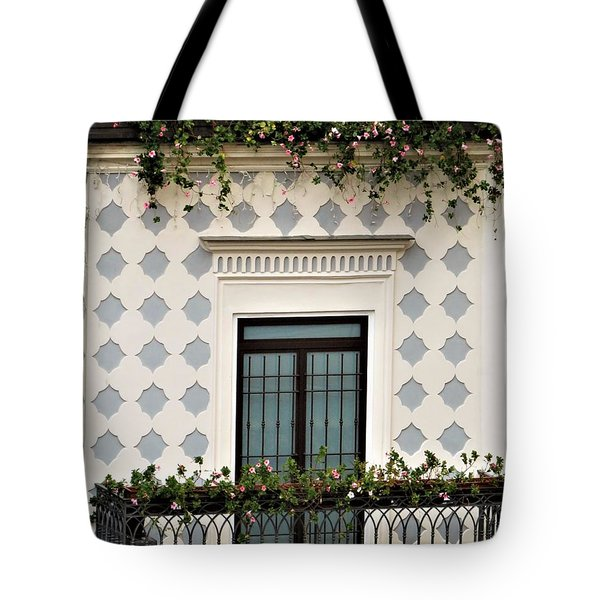 Overlooking The Piazza Tote Bag