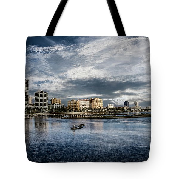 Overlooking West Palm Beach Tote Bag