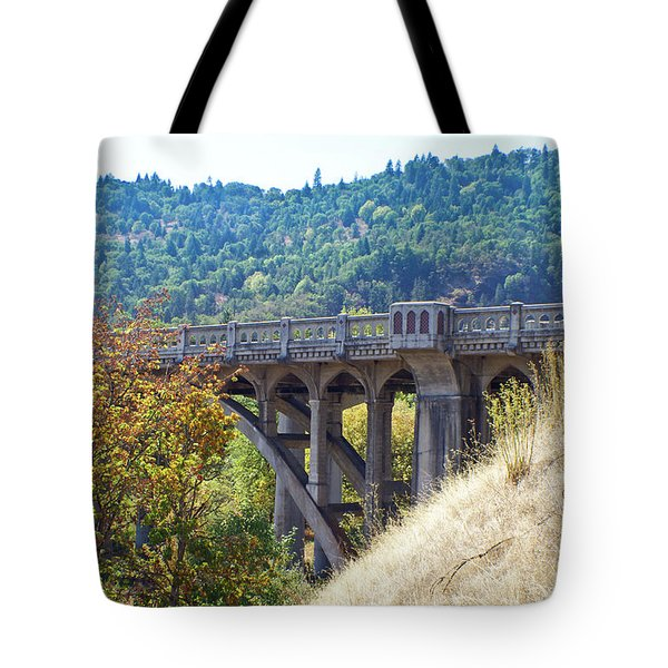 Overpass Underpinnings Tote Bag