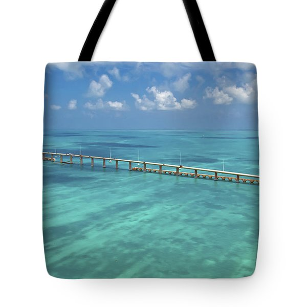 Overseas Highway Tote Bag by Patrick M Lynch