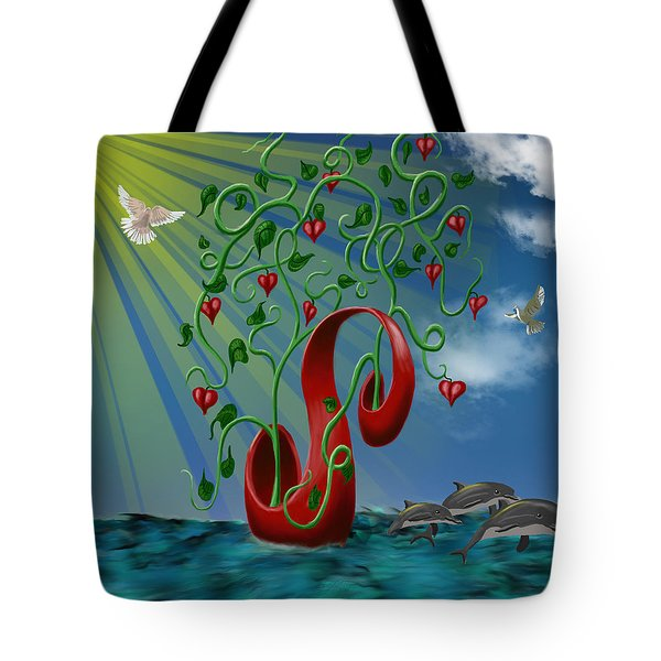 Overseas Hope Tote Bag